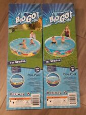 New listing h2ogo kids pool 6ft x 15in
