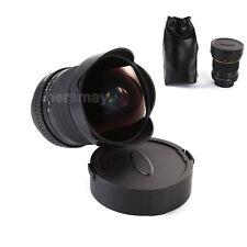 8mm f/3.5 Super Wide Angle Aspherical Fisheye Lens For Nikon D7200 D810 D550 D4S