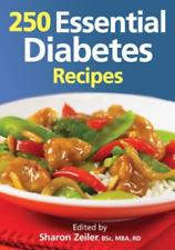 Zeiler-250 Essential Diabetes Recipes  BOOK NEW