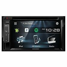 Kenwood DDX24BT Double DIN Multimedia Radio Receiver with Bluetooth CD DVD AM FM