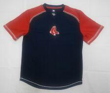 Boston Red Sox V-Neck Short Sleeve Shirt sz M Sports Baseball mlb jersey
