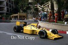Martin Donnelly Lotus 102 Monaco Grand Prix 1990 Photograph