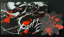 japan 53) Devilman Crybaby Bootleg (Official Booklet) With Sticker