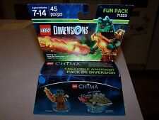 Lego 71223 Craggy and Swamp Skimmer Chima Dimensions Fun Pack MISB New