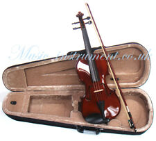 Masters 1/2 size violin with bridge, strings, bow. Brand new in hard carry case