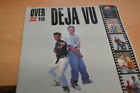 "DE JA VU    OVER 18       7"" VINYL     OUTBURST RECORDS   BURST 02    1990"