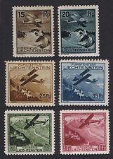 Aviation Liechtenstein Stamps