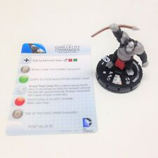 Heroclix The Flash set Gorilla City Commander #209 Gravity Feed figure w/card!