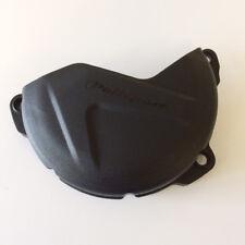 Polisport MX Bike Clutch Cover Protector - Yamaha YZF250 14-17 WRF250 15-17 - Bl
