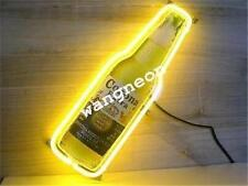 New Corona Extra Bottle Logo Beer Home Bar Real Glass Neon Light Sign Free Ship
