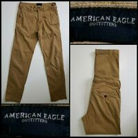 American Eagle Outfitters Men Slim Straight Pants Size 28 x 30