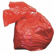 More details for laundry soluble strip bags red 50 litre 457x711x762mm (pack of 200) [hea01909]