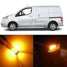Alla Lighting Turn Signal Light 3457K Amber 12V LED Bulbs for Chevy City Express