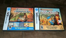 Professor Layton and the Diabolical Box +  the Curious Village (Ninendo DS set)