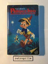 Pinocchio,Walt Disney,Black Diamond,Big Label,Vhs,englisch,Selten,Rare,Top,Rare