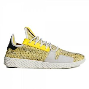 Adidas X Pharrell Williams Tennis V2 Solar HU - Yellow White / BB9543 / Shoes