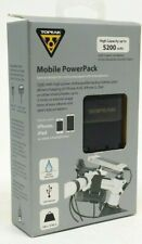 Topeak RideCase PowerPack Mobile Power Pack Battery 5200 mAh, USB