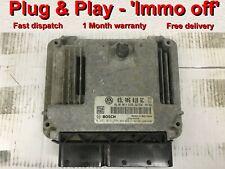 VW Golf MK6 2.0 Tdi ECU 03L906018GC 0281016994 EDC17C46 *Plug & Play* IMMO OFF