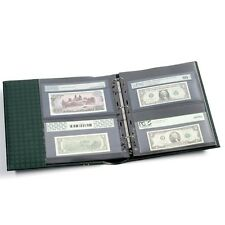 Album For Certified Graded Banknotes Currency Binder PMG PCGS + Slipcase Free US