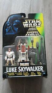 Luke Skywalker Figur Deluxe Star Wars Kenner.