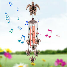 Large Turtle Wind Chimes 33 Bells Windchime Outdoor Garden Home Yard Decor Gift