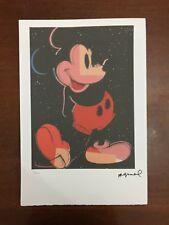 Andy Warhol Litografia 57 x 38 Arches Timbro Secco Israel Castelli AN601