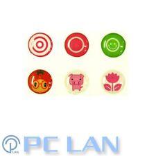 6 PCS Cute Mixed Patterns2 Home Button Sticker for iPhone 3G/3GS/4/4S +Bonus Set