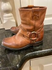 Frye Toddler Brown Leather Harness Boots Size 11