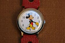 VINTAGE MICKEY MOUSE WATCH TIMEX WALT DISNEY PRODUCTIONS~ MY BROTHERS ESTATE