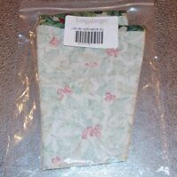 Longaberger American Holly CARD KEEPER Basket Liner ~ Made in USA ~ New in Bag!