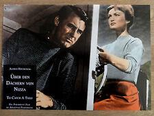 Aushangfoto ÜBER DEN DÄCHERN VON NIZZA Grace Kelly Cary Grant Hitchcock