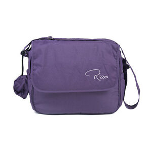 Roma Rizzo Changing Bag - Grape