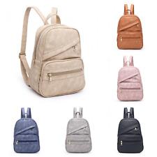 Womens Girls Backpack Rucksack School College Travel Office Leather Bag Handbag