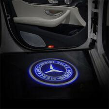 2x Wireless Car Door Projector Ghost Shadow Welcome Lights For Mercedes Benz