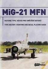 jbr44024/ JBr Decals - MiG-21MFN - NATO Fishbeds - 1/144