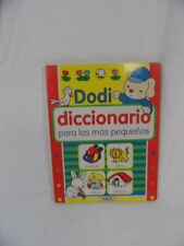 Dodi Diccionario Dictionary Spanish Cardboard Children Illustrated vol. 4