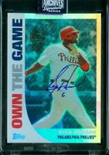 1/1 Ryan Howard 2020 Topps Archives Signature Retired 2008 Topps Auto Autograph