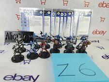 Z6 Star Wars Miniatures 11 Mandalorians Marauder Warrior Commando Hunter +