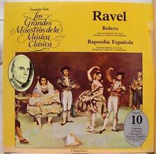 LOS GRANDES MAESTROS DE LA MUSICA ravel bolero LP Mint- Mexico PEA 10
