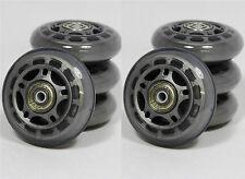 SPEED INLINER ROLLEN 8x 70 mm ABEC 5 Lager Inline Skates Transparent 8750+