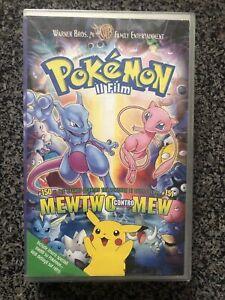 Pokemon Il Film Vhs Warner Bros Mewtwo Contro Mew Ita
