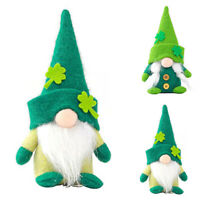St. Patrick's Day Gnomes Plush Doll Gonk Dwarf Elf Decoration Gift Toy Ornament