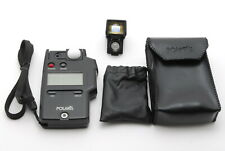 【MINT】POLARIS FLASH METER With SPOT METER 10 and cases From JAPAN