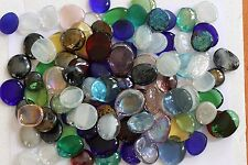 110 Pcs Extra Large/Large Mixed Color Glass Gems, Pebbles, Mosaic Tiles, Nuggets