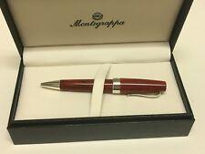 Montegrappa Classica Woodgrain/Sterling Silver Ballpoint Pen