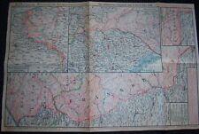 GERMAN - Weekly War Situation Map. Nr. 175, (7/1918).  D.R.G.M. War Help Charity