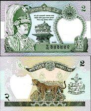 Nepal 2 rupees 1981 p 29 unc