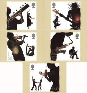 3 OCTOBER 2006 SOUNDS OF BRITAIN SET OF PHQ CARDS 291 MINT