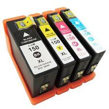4Pk 150XL Ink Cartridges For Lexmark 150 XL  Pro715 Pro 915 S315 S415 S515