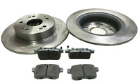 FOR HONDA ACCORD MK8 2.0 2.2 REAR BRAKE DISCS AND PADS 2008 TO 2015 305MM